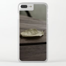 Fallen Clear iPhone Case