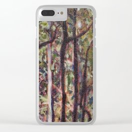 The Australian forest Clear iPhone Case