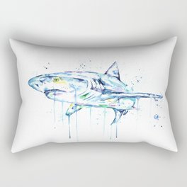 Shark - Toothy Rectangular Pillow
