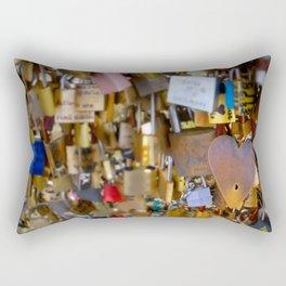 Love Locks Rectangular Pillow