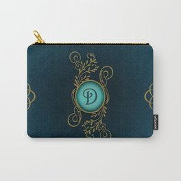 Monogram D Carry-All Pouch