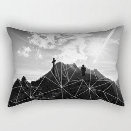 Crystal Mountain II Rectangular Pillow