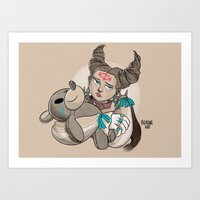 Mewt Art Print