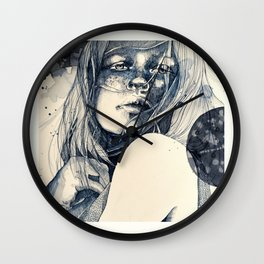 After the fall Wall Clock