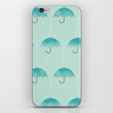 Umbrella Falls iPhone & iPod Skin