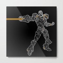 Polyborg Metal Print