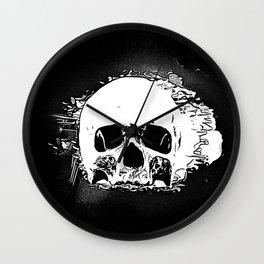 Skull Face Wall Clock