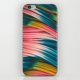 Bubble Gum Strand. Abstract Strands Design iPhone Skin