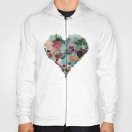Love - Original Sea Glass Heart Hoody