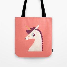 Minimal Unicorn Tote Bag