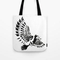 Raven Crow Shaman tribal design Tote Bag