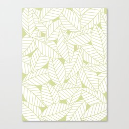 Leaves in Fern Canvas Print