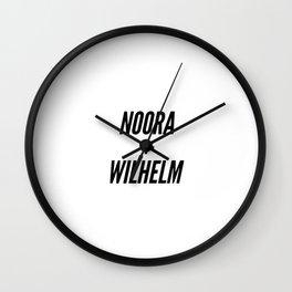 Noora+Wilhelm Wall Clock