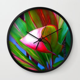 Nice Curves Wall Clock