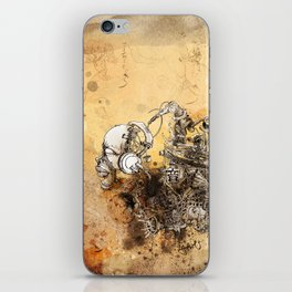 Remix soul iPhone Skin