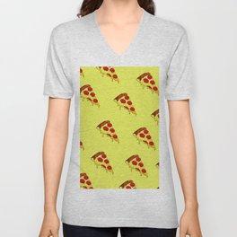 Pizza Pattern Unisex V-Neck