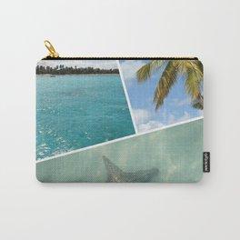 Caribbean Photo Collage - Isla Saona Carry-All Pouch