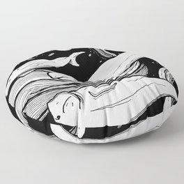 Beluga Whale Pod Floor Pillow