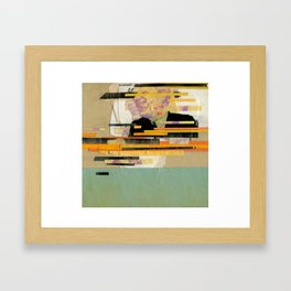 Kung Fu City Framed Art Print