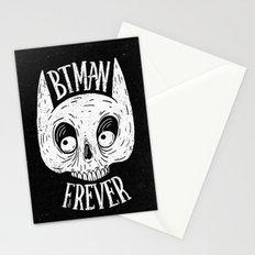 Bat skull Stationery Cards