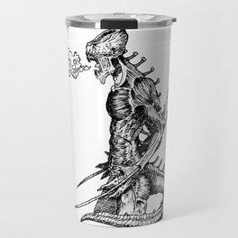 Fierce (Inktober 2017) Travel Mug
