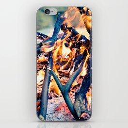 Anatomy of Fire iPhone Skin