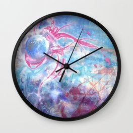 Slanted Introspection  Wall Clock