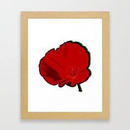 DBM California Poppy 4 Framed Art Print