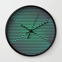 Play with stripes  2 Wall Clock