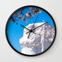 Dr. King in the Spring Wall Clock