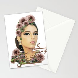 S6 Tee in Arabic Stationery Cards