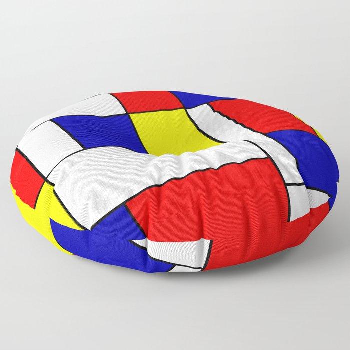 Mondrian #38 Floor Pillow