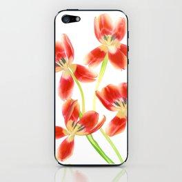 Tulip Love iPhone Skin