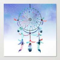 dream catcher Canvas Prints featuring Dream Catcher by General Design Studio