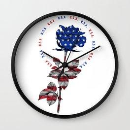 My name is USA Wall Clock