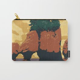 Hopewell Rocks Poster Carry-All Pouch
