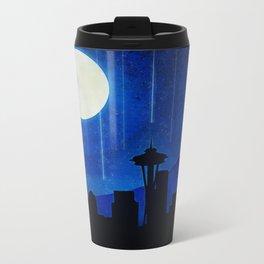 Sleepless Seattle Metal Travel Mug