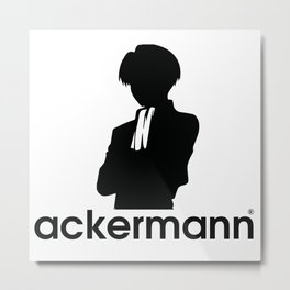 ackermann logo Metal Print