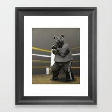 Old School Champion 1 Framed Art Print