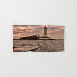 St Mary's Lighthouse Hand & Bath Towel