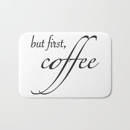 coffee type Bath Mat