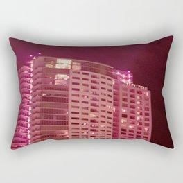 Red, Red, Rise Rectangular Pillow