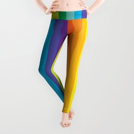Rainbow Stripes Leggings