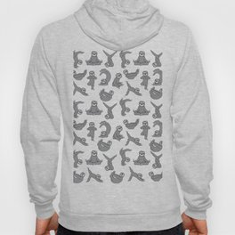 Yoga Sloth Hoody