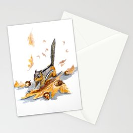 Autumn Gathering Stationery Cards