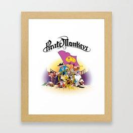 Pirate Monkeys Framed Art Print