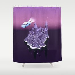 Hogwarts series (year 2: the Chamber of Secrets) Shower Curtain