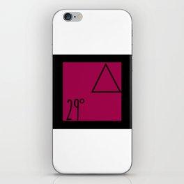 29 degrees iPhone Skin