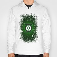 green lantern Hoodies featuring Green Lantern by Some_Designs
