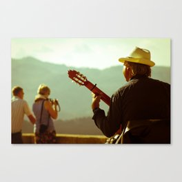 Guitara Canvas Print